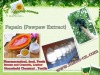 Natural Papaya Extract with Papain for feed additives
