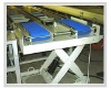 industrial production line stainless steel mesh belt conveyor system