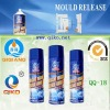 plastic injection mould release silicone lubricant spray