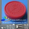 plastic top 20mm, flip off seal caps company logo,flip off vial cap
